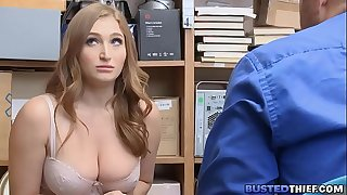 Thick Big Hooters Shoplifter Anal Fucked
