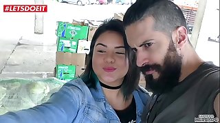 LETSDOEIT - Bubble Butt Latina Picked Up And Fucked From the Market