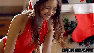 Christmas Sensational - Sexy Santa Munches Teen Pussy S30:E3