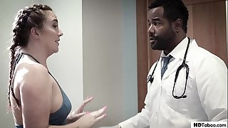 Ebony Doc maniacs his favourite patient - PURE TABOO