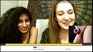 Petite Dick Humiliation by Indian/white cam girls pt. 1