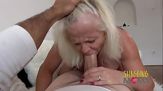 Naughty Mature Hoe Cums On A Huge Hard-on And Loves It