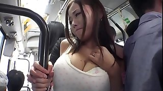 Japanese Babe Gets Filled With Cum