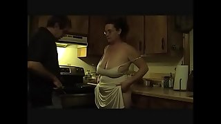 Wife pays rent, fat boobs
