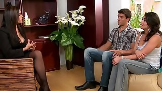 (Charley Chase, Raylene Ramon) - Threesome Therapy