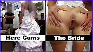 XXXPAWN - Here Cums The Bride, Abby Rose, Looking To Piss Off Her Ex