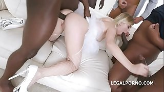 Jammed brides, Kira Thorn No Pussy, Nutsack Deep Anal and DAP, Gapes, Guzzle GIO889